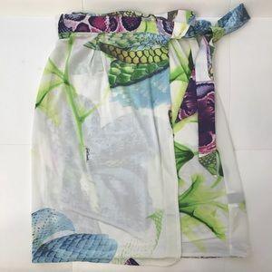 JUST CAVALLI Wrap Skirt Sz 40